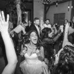 Bride Loving the toast event